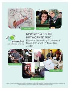 New Media For The Networked NGO, Jordan